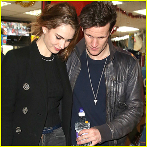 Lily James on Dating Matt Smith: 'He Made Me Laugh All The Time'