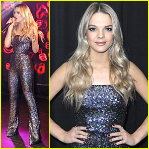 Louisa Johnson Sparkles In Stunning Jumpsuit For G-A-Y Performance - See The Pics!