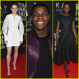 Daisy Ridley & John Boyega Celebrate 'Star Wars' Fashion in NYC!