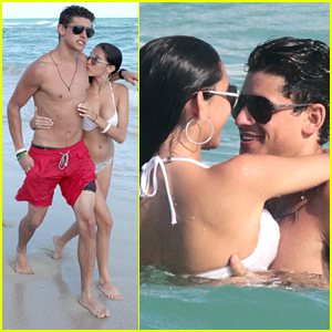 Madison Beer & Jack Gilinsky Snap Pics With Fans While Soaking Up The Sun in Miami