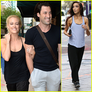 Maksim Chmerkovskiy Makes Coffee Run With Meryl Davis After Peta Murgatroyd Engagement