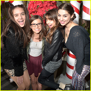 Kira Kosarin & Brec Bassinger Catch Screening Of Nickelodeon's 'Ho-Ho-Holiday' Special