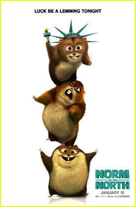 See A New Exclusive 'Norm of The North' Poster - The Lemmings of Liberty!