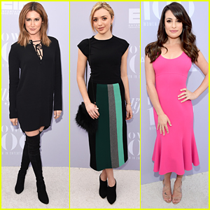 Ashley Tisdale & Peyton List Step Out For THR's Women In Entertainment Breakfast 2015