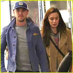Tom Felton & Jade Olivia Hit The Grove For Last Minute Christmas Gifts