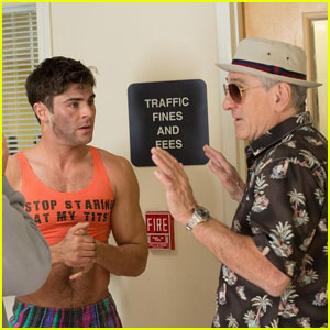 Zac Efron Flaunts Fit Abs in New 'Dirty Grandpa' Photo!