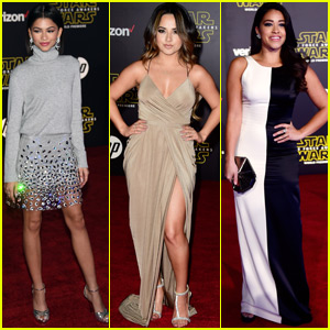 Becky G & Zendaya Geek Out at the 'Star Wars' Premiere