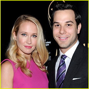 Skylar Astin Is Wearing an Engagement Ring Too!