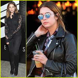 Ashley Benson Hits Up Superism Launch Event Before Running Errands