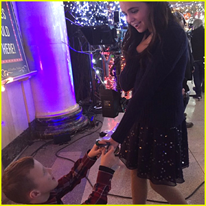 Bailee Madison Says 'Yes' To Young Fan's Marriage Proposal on 'Good Witch' Set