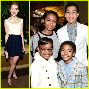 black-ish's Yara Shahidi & Marcus Scribner Honored At AFI Awards 2016