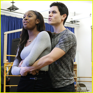 Coco Jones Rehearses with Jason Gotay for 'A Bronx Tale' Musical - See The Pics!