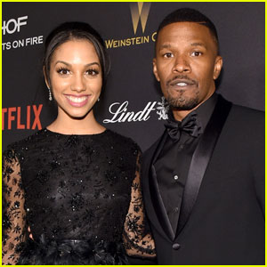 Corinne Foxx Parties With Dad Jamie at Golden Globes After-Party 2016