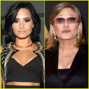 Demi Lovato Praises 'Star Wars' Actress Carrie Fisher for Calling Out Body Shamers