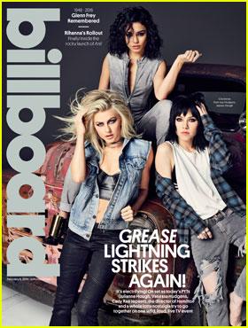 Julianne Hough, Vanessa Hudgens, & Carly Rae Jepsen Cover 'Billboard' for 'Grease: Live'!