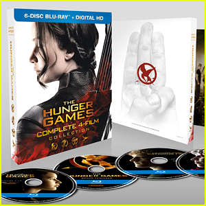 'The Hunger Games' Complete Film Collection Out on Bluray March 22nd!