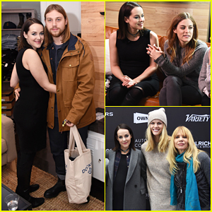 Jena Malone & Boyfriend Ethan DeLorenzo Bring Baby Bump To Sundance 2016!