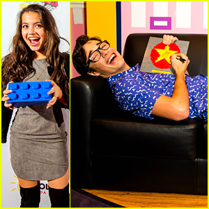 Joey Bragg & Isabela Moner Kick Off Legoland's LEGO Movie 4D Premiere