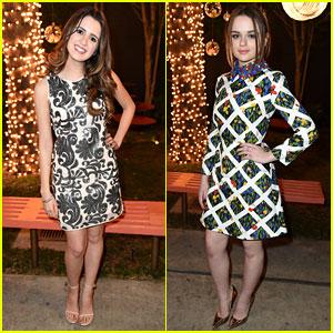 Laura Marano & Joey King Bring Chic Fashion to JJJ's 'Star Darlings' Dinner!