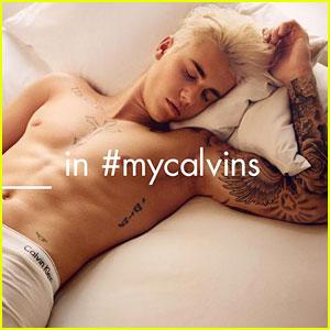 Justin Bieber is 'Back in Bed' in New Calvin Klein Underwear Ad