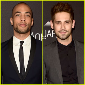 Kendrick Sampson & Jean-Luc Bilodeau Dress to Impress After Golden Globes 2016