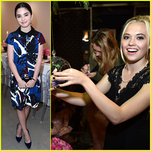 Lauren Taylor & Landry Bender Make a Wish at JJJ's 'Star Darlings' Dinner