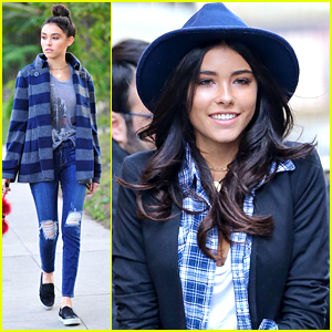 Madison Beer Heads To NYC After Getting Back Into The Studio