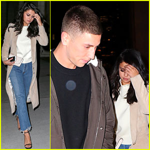 Selena Gomez & Samuel Krost Grab Dinner in NYC Together