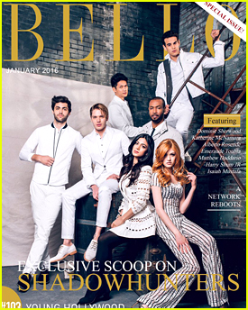 The 'Shadowhunters' Cast Fronts Special Edition of 'Bello' Mag