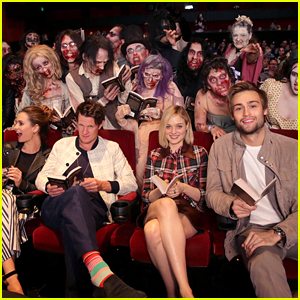 'Pride & Prejudice & Zombies' Smash a New Record at JustJared.com's Fan Screening!