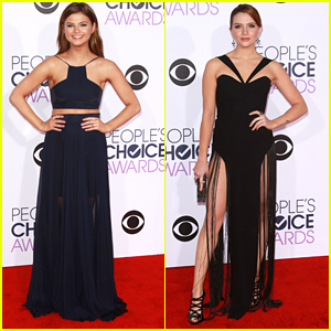 Stefanie Scott & Katie Stevens Sizzled On The Red Carpet at People's Choice Awards 2016