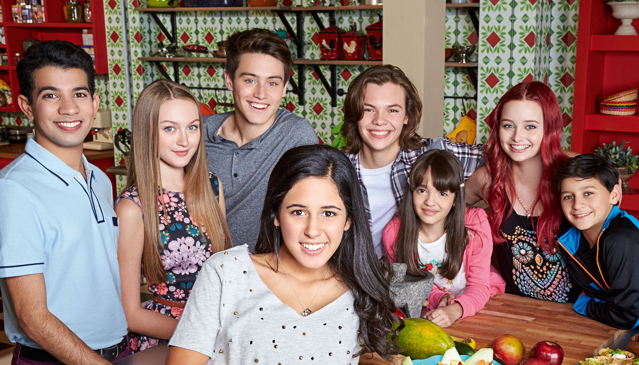 The Kitchen Show Cast talia in the kitchen' cancellednickelodeon, cast reacts