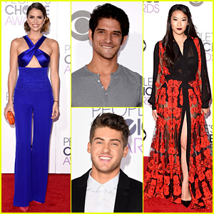 'Teen Wolf' Stars Hit the People's Choice Awards 2016 Red Carpet!