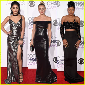 Vanessa Hudgens Hits the People's Choice Awards 2016 With 'Grease' Co-Stars!