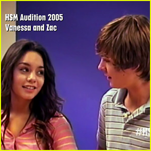 Vanessa Hudgens & Zac Efron's 'HSM' Audition Tape Is Amazing - Watch Now!