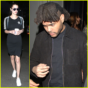 Bella Hadid & The Weeknd Cut Date Night Short