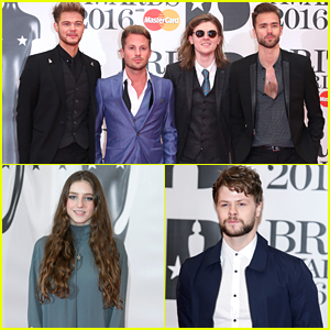 Lawson Hit BRIT Awards 2016 with Birdy & Jay McGuiness