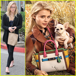 Chloe Moretz Stars In Coach's Spring 2016 Campaign