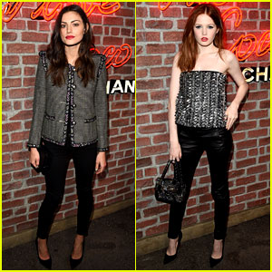 Phoebe Tonkin Hosts Chanel's 'I Love Coco' Event with Ellie Bamber