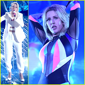 Ellie Goulding Performs at Sanremo Music Festival 2016 In Italy