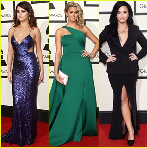 Selena Gomez, Demi Lovato & More Make JJJ's Grammys 2016 Best Dressed List