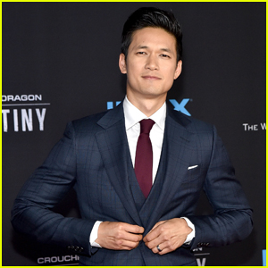 Harry Shum Jr. Looks Sharp For Premiere of 'Crouching Tiger, Hidden Dragon: Sword of Destiny'