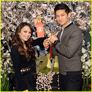 Janel Parrish & Harry Shum, Jr. Celebrate Lunar New Year in Los Angeles