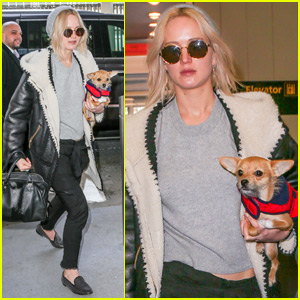 Jennifer Lawrence Wraps Up Trip In New York City