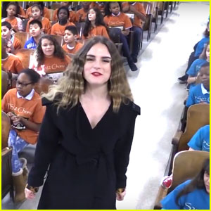 JoJo Beautifully Sings 'Say Love' With the PS22 Chorus - Watch Now!