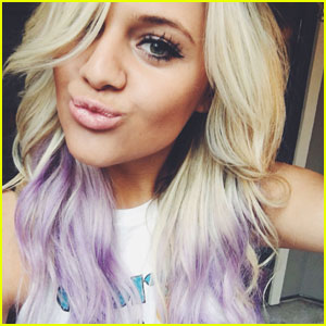 Kelsea Ballerini Dyes Her Hair Purple!