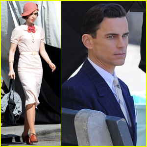 Lily Collins Goes Back to the 1930's For 'The Last Tycoon' with Matt Bomer