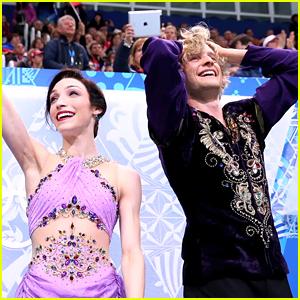 Meryl Davis & Charlie White Celebrate Sochi Olympics Win Anniversary