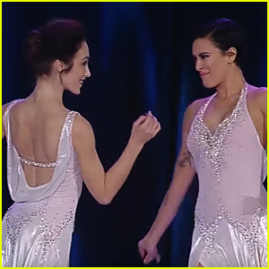 Meryl Davis & Rumer Willis Team Up Together for 'Dream' Dance at 'Shall We Dance On Ice' - Watch Now!