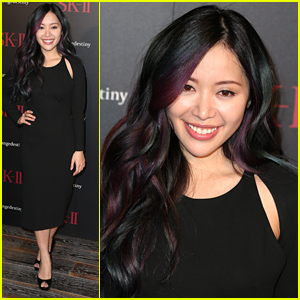 Michelle Phan Shows Off Dark Rainbow Hair at SK-II #ChangeDestiny Forum